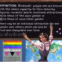 """LGBT"" advocates - nonengagement of bisexual issues = Biophobia by default"