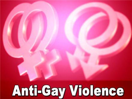 anti- gay violence